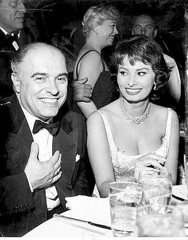 Carlo Ponti i Sophia Loren