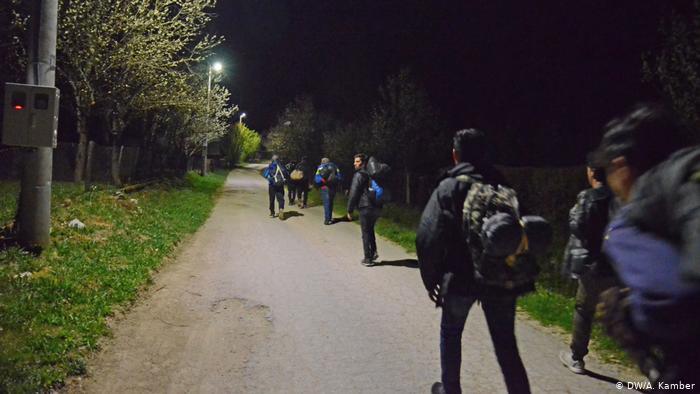 Noćni prelasci su za migrante mnogo povoljniji, jer su mogućnosti da budu otkriveni manje