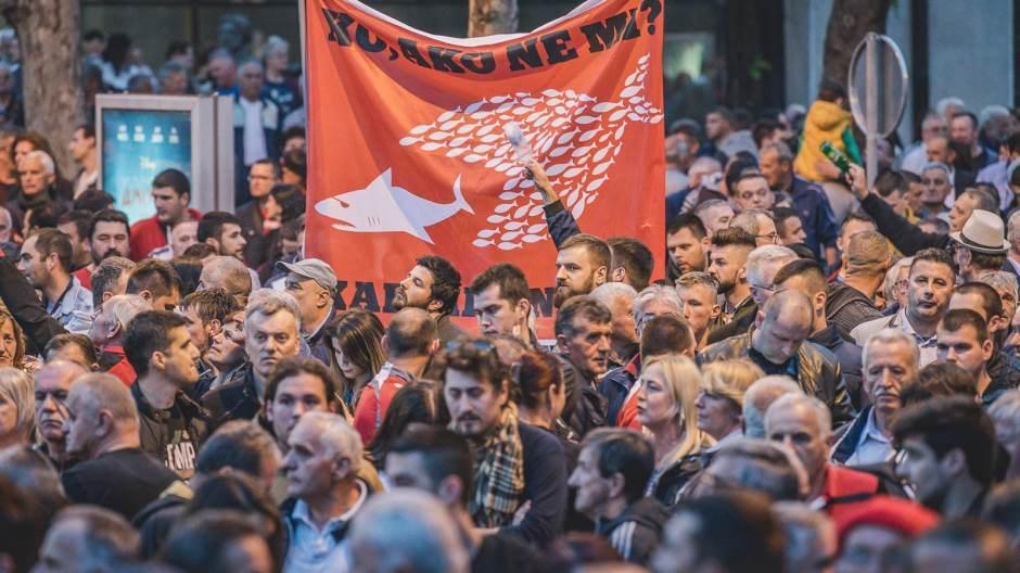 Podgorica protest
