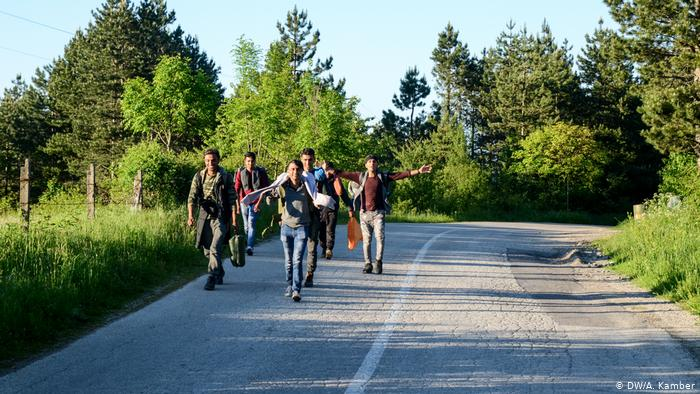 Preko planine Plješevice je i dalje aktivna ruta preko koje migranti i izbjeglice ulaze na teritoriju Hrvatske na putu prema zemljama zapadne EU. Foto: Ajdin Kamber