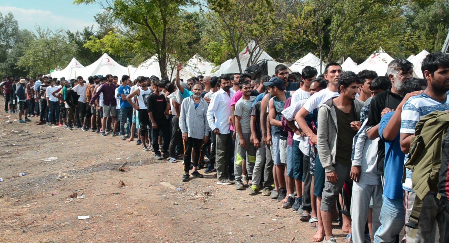 Vučjak , kamp za migrante i izbjeglice, Bihać