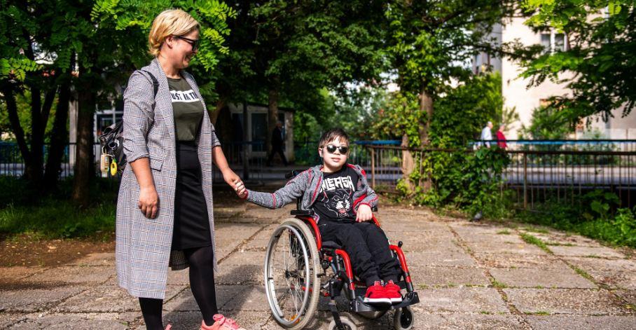 Nives Blažević iz Mostara majka je djeteta s invaliditetom – jedanaestogodišnjeg Matea
