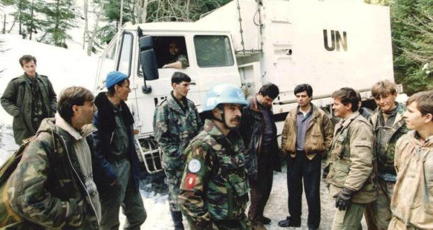 Srebrenica, holandski vojnici