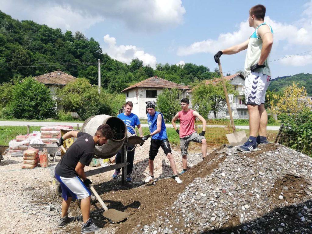 Srebrenica, kamp