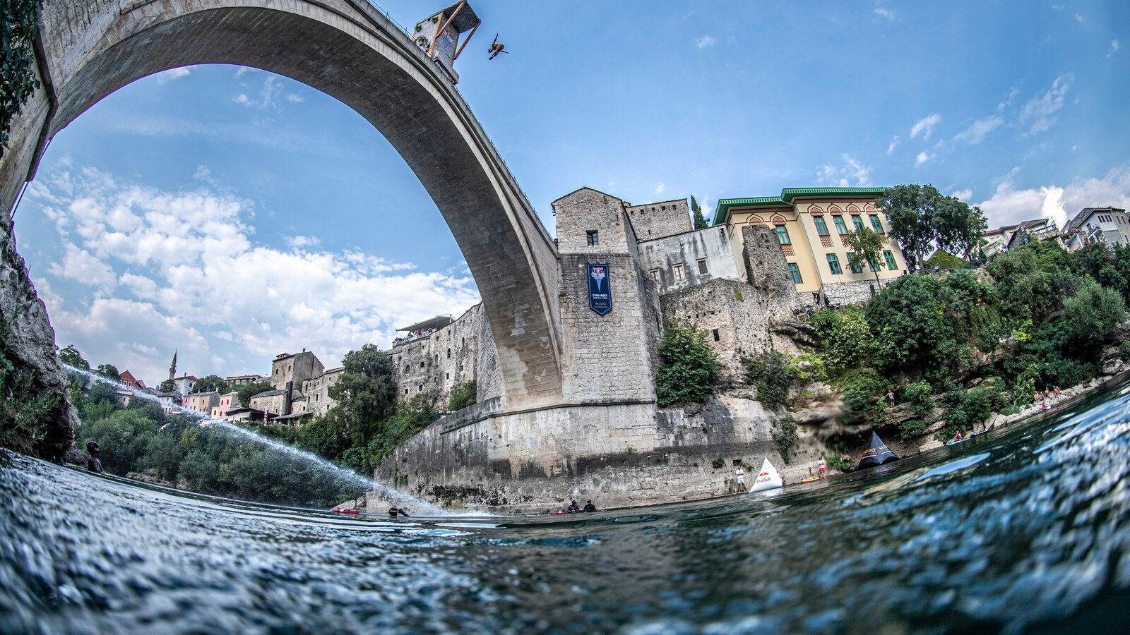 Red Bull Cliff Diving, Mostar