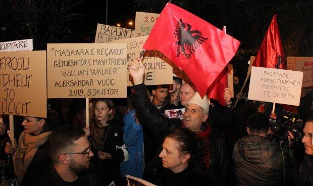 Tirana, Protest
