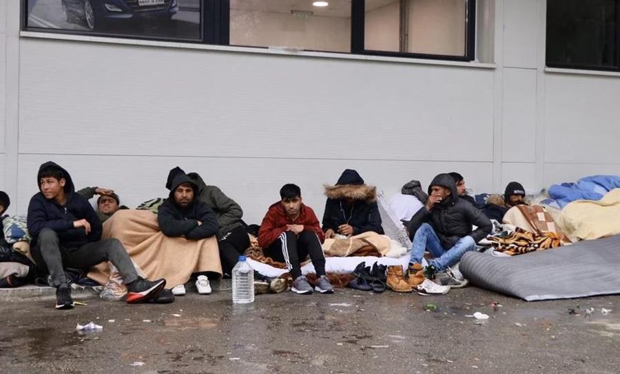 Tuzla, migranti