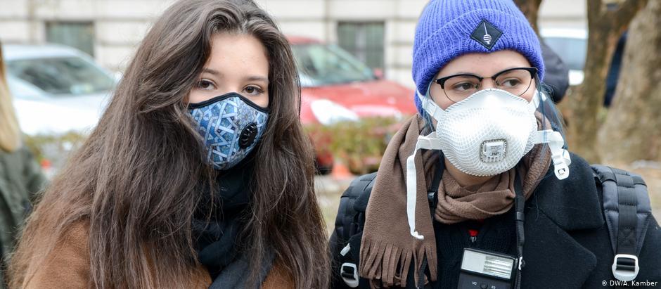 Sarajevo, protest, zagađenje