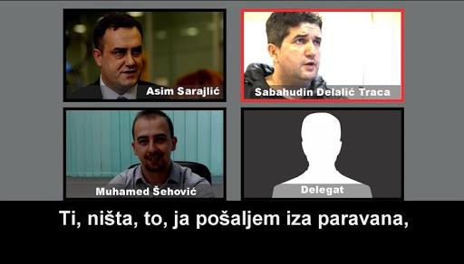 Asim Sarajlić, SDA, korupcija, kriminal