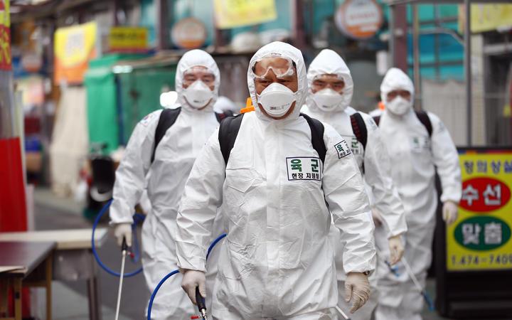 Južna Koreja, doktori, koronavirus