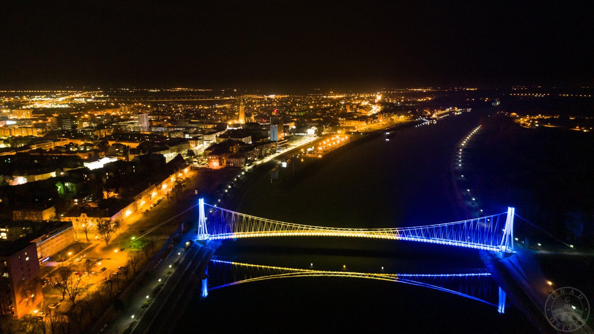 Osijek, most, BiH, koronavirus