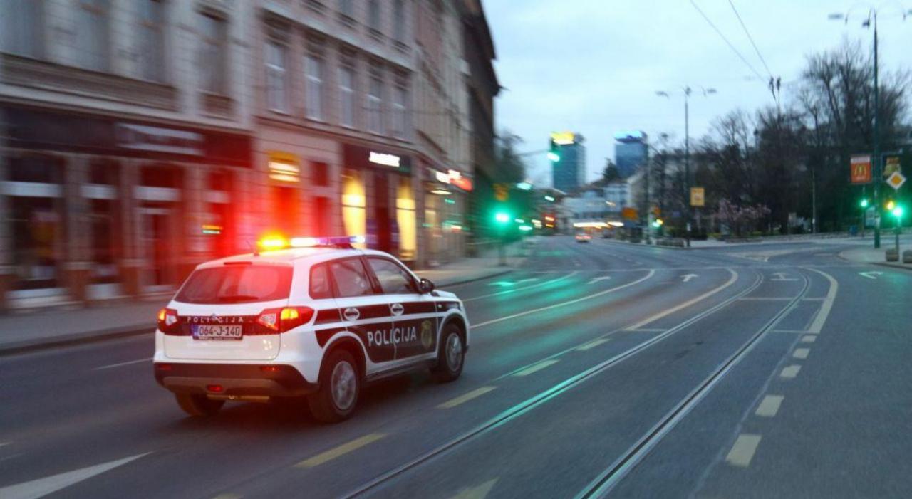 Sarajevo, policijski sat