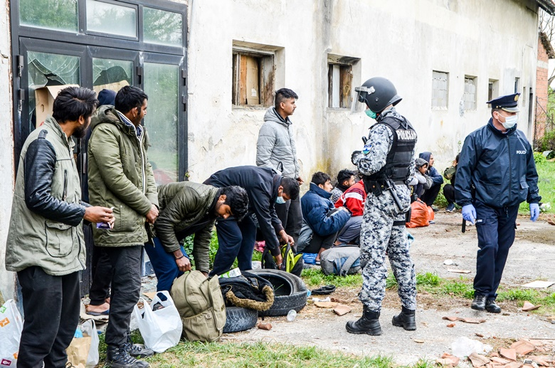 policija, migranti, izbjeglice, USK, Ajdin Kamber