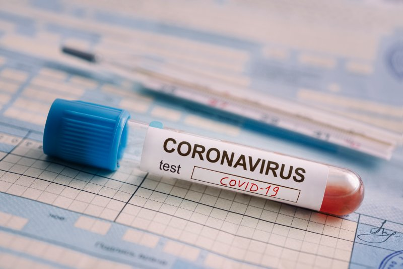 koronavirus, test