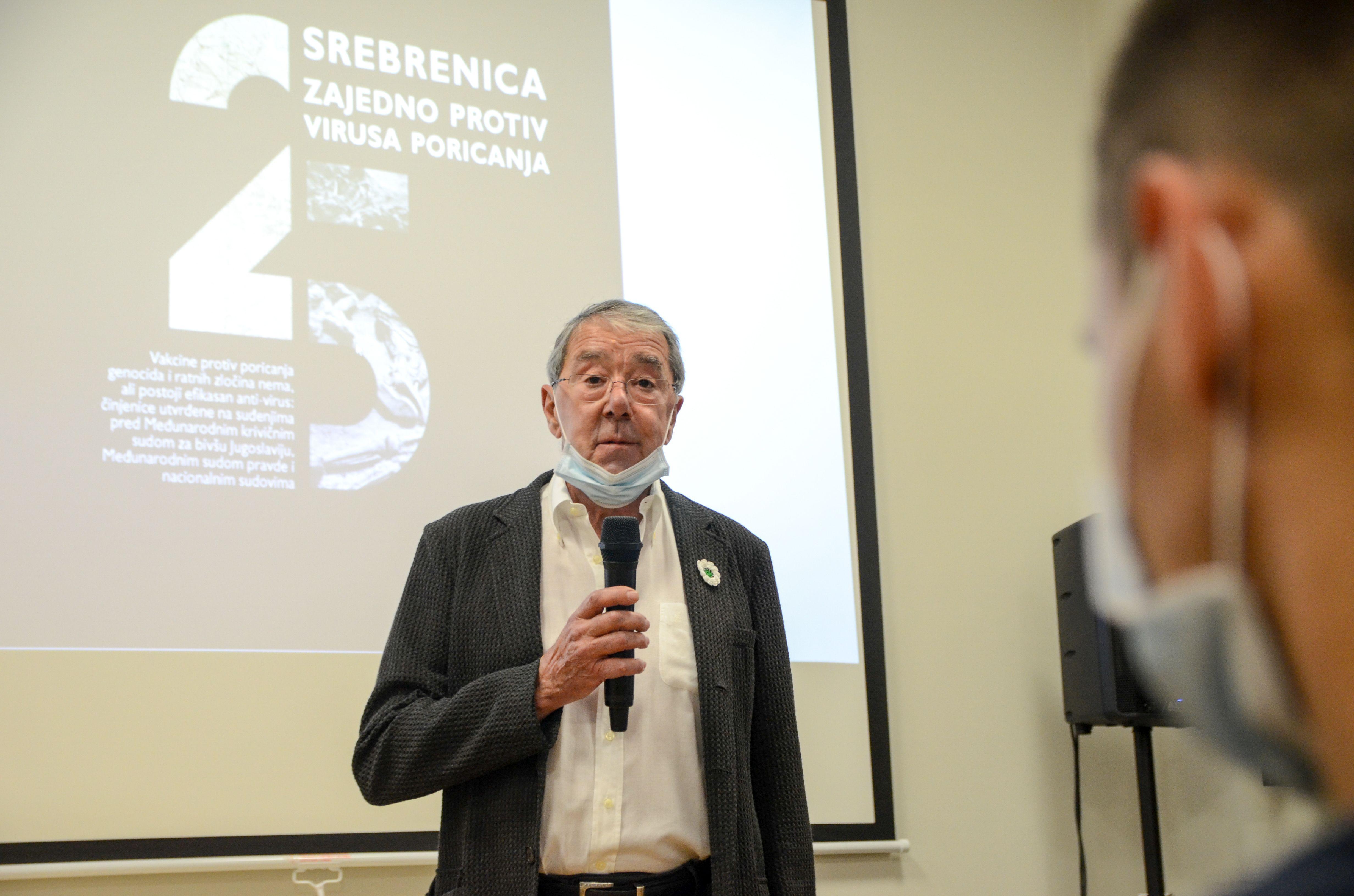 Srebrenica 25 - Zajedno protiv virusa poricanja, Mirko Klarin, Foto - Ajdin Kamber