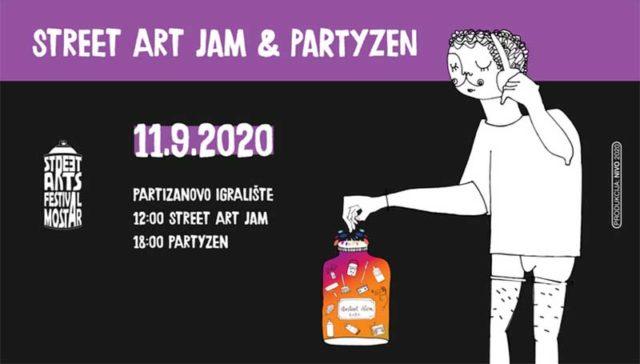 Street Art Jam & PartYzen
