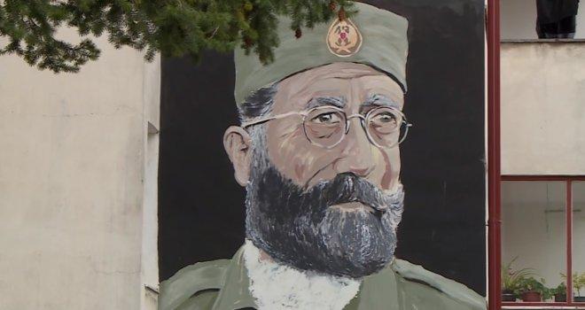 Mural Draže Mihailovića