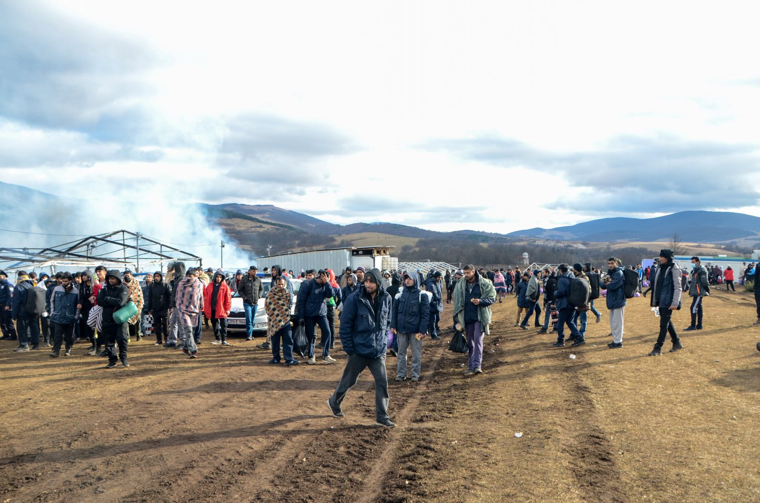kamp Lipa, izbjeglice, migranti, Bihać