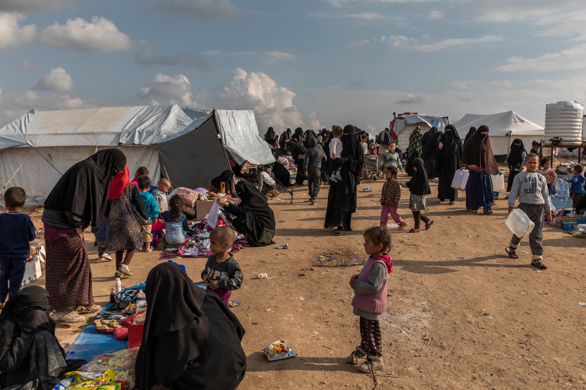 Sirija, kamp