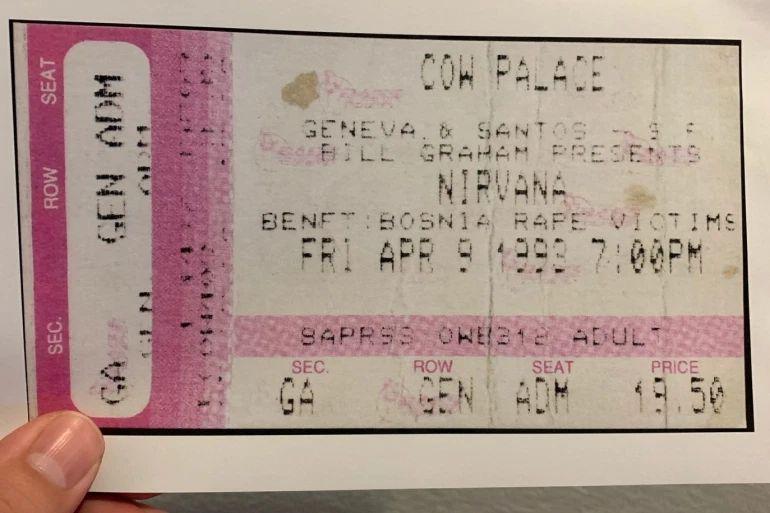 Nirvana, koncert, rat, BiH, zločin